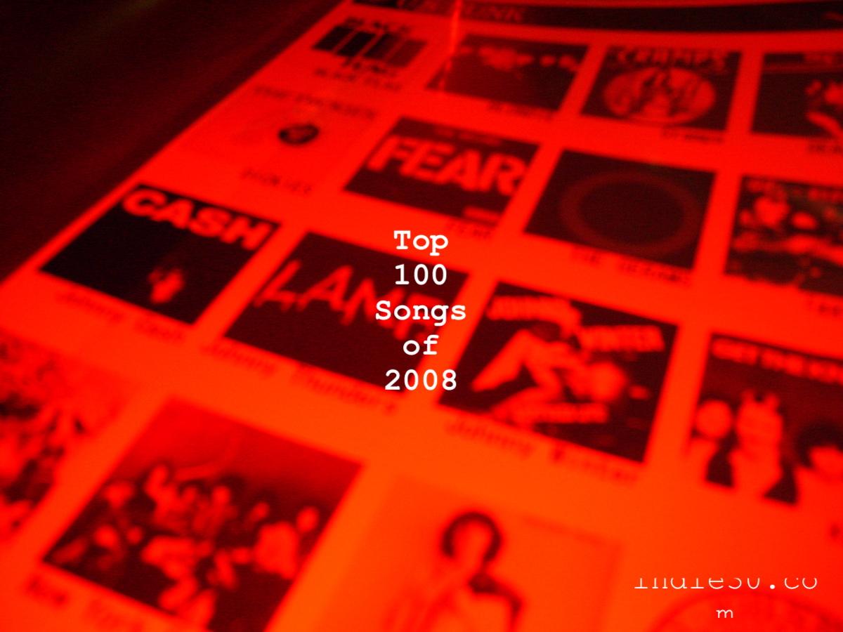 indie30 top 100 songs of 2008