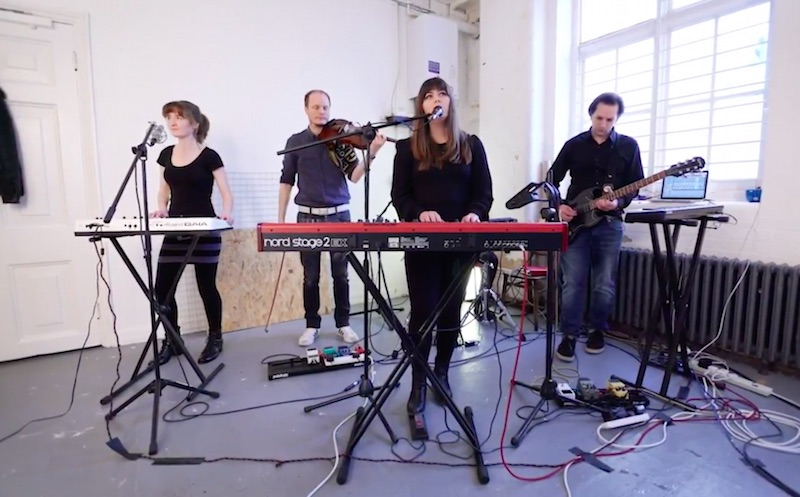 AUSTEL SHARES LIVE PERFORMANCE OF 'ANAESTHESIA'
