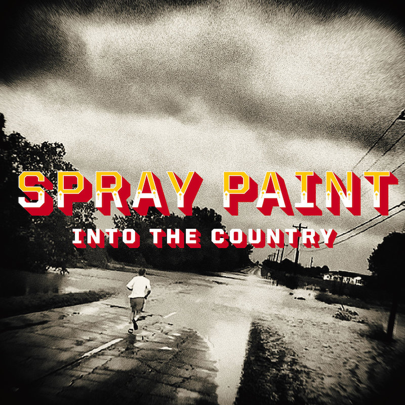 SPRAY PAINT ANNOUNCE INTO THE COUNTRY, LISTEN TO 'CLEANING YOUR GUN'